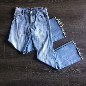 Lucky Brand Olivia Flare Blue Jeans